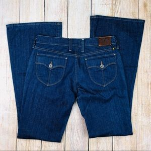 Lucky Brand Flap Pocket Charlie Flare Jeans